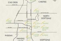 Phoenix - Scottsdale Area Communities / Find out more information about Phoenix and Scottsdale area communities.