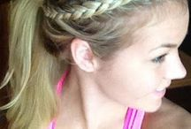 Braids and hairstyles for the girls.