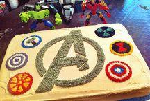 Avengers kake