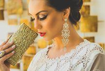 Campanha Ana Alcantara Acessórios / Coleção de Jóias de luxo