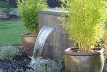 Water features / Water features add a piece of nature to your back yard.