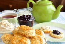 Scones / A proper English scones recipe using North American baking measurements instead of weight measures. Perfect with thick cream and your favorite homemade jam.