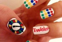 Games & Toys Nail Art / by Rose Stumbaugh