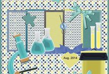Aug.14 Ivy Scraps MP kits , mijn lo's / hier alle lo's van de Aug. 14 mini pixel kits door alle designers in Ivy Scraps gemaakt