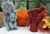 Knitting patterns / Some fun knitting patterns from my website http://www.thepatternbox.com/fall.html
