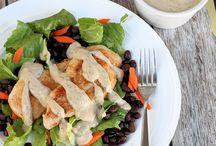 Salads and Salad Dressings