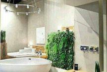 + Rośliny i naturalna łazienka + / Wypełnij wnętrze łazienki naturą!