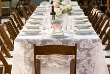 sheer tablescapes