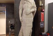 Efterantikke skulpturer