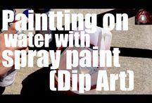 water dip painting