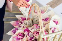 Rożki z kwiatami