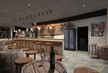 JIBS Pub / Interior Design for Student's Pub at Jönköping University, Sweden, 2015.