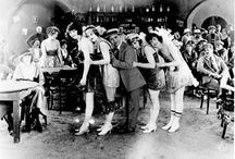 """Speakeasy  / Flowers and decor inspiration for 40's themed """"speakeasy"""" party."""