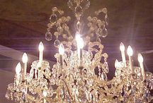All about the chandelier