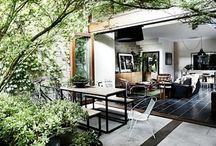 Outdoor Indoor / Bring a touch of the outdoors indoors by embracing nature...