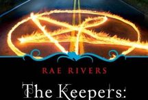 The Keepers:  Archer / Sienna Beckham is a powerful witch, fiercely protected by three handsome warrior Keepers. An evil warlock is out for revenge and trouble is brewing. A forbidden romance is blossoming between Sienna and one of her Keepers. Will their love survive the ultimate war?