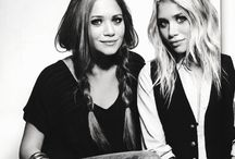 Mary Kate, Ashley, and Elizabeth Olsen / My style icons / by Stephanie Weiler