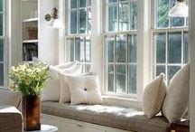 siedzisko w oknie