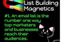 List Building Magnetics / Mewsli's Top Tips for magnetically attracting prospects to your email list