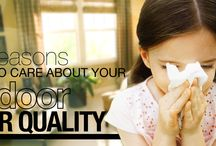 Indoor Air Quality / Tips, tricks and information about your home's indoor air quality, including why it's important and ways to improve it.