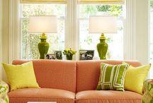 colour schemed rooms