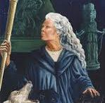 The Great Goddess / I am a hereditary and practicing Celtic Witch - thus a daughter of the Great Goddess.