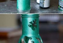 GLASS BOTTLE ART