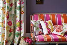 Fabrics & wallpaper etc / by Jody Waldren