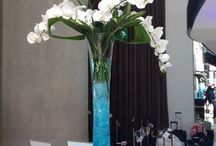 Vase Displays / Business, restaurant, hotel displays