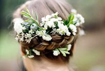 Curated board - Hair flowers