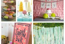 Birthday Party Ideas / by Meghan Hollett