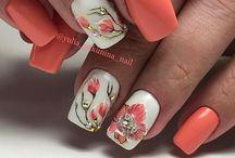 Kwieciste paznokcie