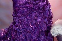 Фиолетово лиловое