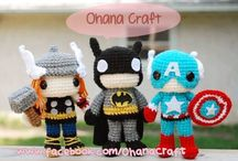 Crochet superheroes