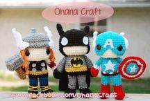 Crochet superheroes