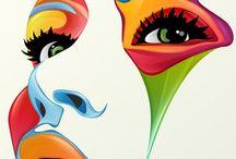 kresby + malby