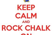 Rock Chalk Jayhawk..♥ / by Betsy Posey