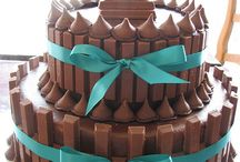 Birthday cake / Chocolate kitkat cake