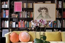 Bookcases / Books and other items to add style to your bookshelves / by Margaret Jordan