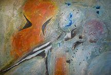Picture - obrazy :Bohuslav Vágner     czech artist, mix media,oil, acryl / http://www.ateliervagner.cz/
