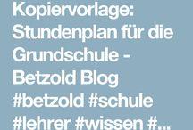 Infos Schule / Infos, Unterrichtstipps, Ideen rund um den Schulalltag aus dem #Betzold #Blog