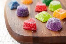 bonbons, caramels, truffes , nougats, etc...