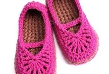Baby Booties & Mitts - Crochet / Just a little something extra to go with that blanket or sweater.