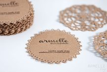 Stamped doilies