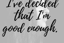 2018:  Good enough
