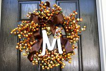 Fall decorations / by Committed To Getting Fit