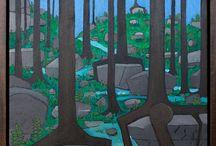 Landscape Paintings by Adam DeSio