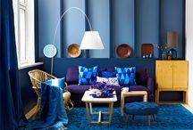 Blue / Blue decor ideas.