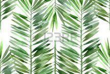 Trend: Tropical Aquarell