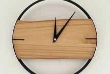 Horloges / Dans ce tableau, retrouvez toutes les inspirations concernant les loisirs créatifs pour les #horloges. #wallclock #clock